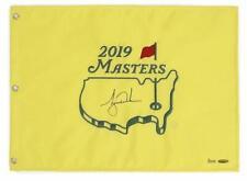 Tigre Woods Dédicacé 2019 The Masters Broche Drapeau Uda Le
