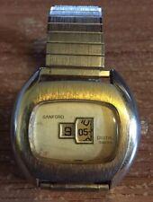 Vintage Sanford Jump Hour Watch RUNNING