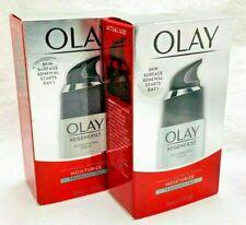 2) Olay Regenerating Serum Fragrance Free Moisturizers 1.7 oz