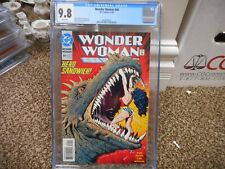 Wonder Woman 80 cgc 9.8 DC 1993 GREAT mouth of the monster cover Dinosaur NM M