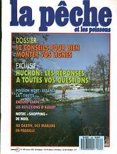 Revue  La pêche et les poissons No 535 Décembre  89