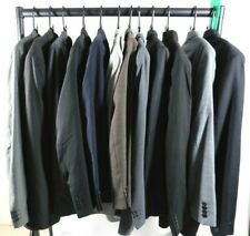 Mens Job Lot branded suit jackets Plain & patterned re sale mixed sizes & styles
