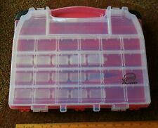 Plano 12 x 14.5 Fishing Tackle Small Parts Storage Box Series 3930/5231 Red New