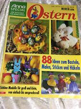 Anna Special 88 Ideen Ostern E 495 Basteln Dekorationen Häkeln Sticken Nähen