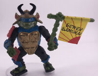 Vintage 1990 TNinja Turtles Figure TMNT Leo The Sewer Samurai Leonardo Rare  Toy