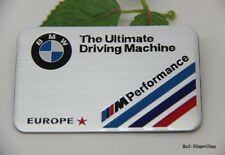 D919 performance M/// auto aufkleber 3D Emblem Badge Schriftzug car Sticker