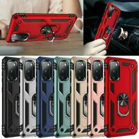Armor Hybrid Shockproof Case Metal Ring Military Grade For Samsung Galaxy S20 FE