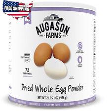 Augason Farms Dried Whole Egg Product 2 lbs 1 oz No. 10 Can...