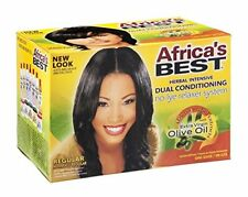 Africa's Best Dual-Conditioning No-Lye Relaxer, Regular (4 Pack)