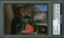 Packers Sterling Sharpe Authentic Signed Card 1992 Pro Line #76 PSA/DNA Slabbed
