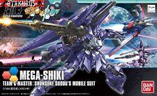 Mega-Shiki Gundam Build Fighters Try Shunsuke Sudou Scale 1/144 Model Kit Bandai