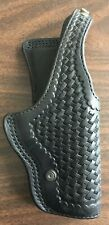 1992 HOYT Coupeville, WA S.L.O.P.D Basketweave Leather Holster Fits S&W 5926