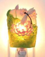 Artisan Made Natural Leaf Nightlight EAG-624-M MULTI