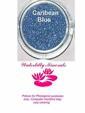 Caribbean Blue Minerals Eye Shadow Bare Makeup Eyeshadow Sample Size New/Sealed