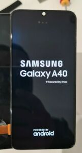 🇫🇷Écran Samsung Galaxy A405 A40 A405F Amoled et tactil d'origine sur châssis