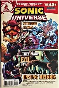 SONIC UNIVERSE Comic #42 September 2012 SECRET FREEDOM FIGHTERS 2 of 4 NM