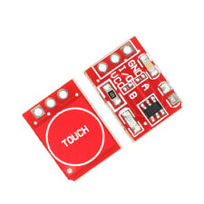 TTP223 Mini Red Capacitive Touch Switch Button Lock Sensor Module Arduino
