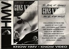 "NEWSPAPER CLIPPING/ADVERT 30/4/94PGN17 7X11"" GUNS N ROSES : THE MAKING OF ESTRAN"