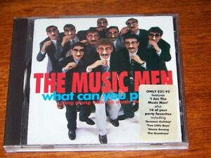 """""""What Can You Play"""" *LIKE NEW* The Music Men; 1993 CD (Red Faces, Red Symons)"""