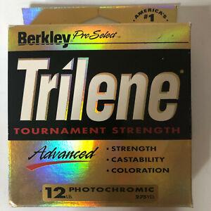 BERKLEY (Pro Select) TRILENE TOURNAMENT STRENGTH PHOTOCHROMIC 12LB NOS 275YDS