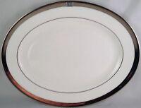 "Lenox china Jewel platinum oval serving platter ( 13"" )"