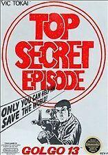 Golgo 13: Top Secret Episode (Nintendo Entertainment System, 1988)CARTRIDGE ONLY