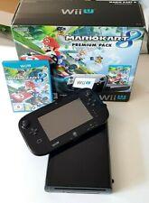 Pack Console Nintendo Wii U Noire en boite + GamePad + Mario Kart 8 TBE