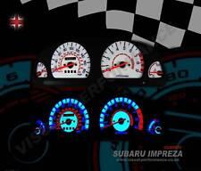 Subaru Impreza 180mph interior speedo dash lighting bulb upgrade dial kit