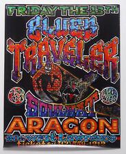 """BLUES TRAVELER Aragon Ballroom Chicago Concert POSTER RARE 19""""x24"""""""