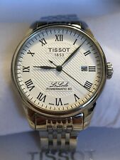 Mens Tissot Le Locle Powermatic 80 Swiss Automatic Watch, Box & Papers Vgc Fwo