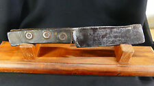 Antique Civil War Era Sailor's Rigging Knife w/Leather Handle/Used on Tall Ships