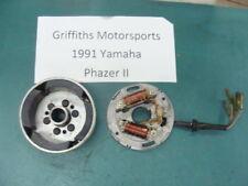 91 92 90 YAMAHA PHAZER 2 II pz485 stator magneto gen flywheel 89 88 87