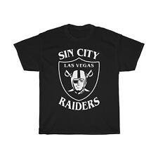 Sin City Las Vegas Raiders Essential T-Shirt Black Funny Vintage Gift For Men