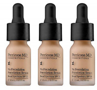 Perricone MD No Foundation Foundation Serum, .3 Fl Oz (3 Pack)