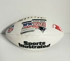 Sports Illustrated Super Bowl XXXVI Patriots Football