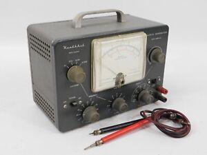 Heathkit AG-9 Vintage Tube Audio Generator w/ Probes (untested, original)