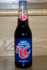 NM 2012 USA ROYAL CROWN RC COLA FULL 12oz GLASS LONG NECK BOTTLE - TWIST-OFF TOP