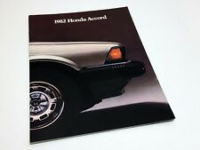 1982 Honda Civic Sedan Hatchback Wagon Brochure