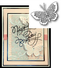 Theo Butterfly Metal die - Poppystamps cutting dies 1060 Animals,insects