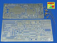 1/16 ABER 16033 BASIC SET for TIGER II HENSCHEL TURM for TAMIYA & TRUMPETER Kits