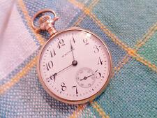 Ladies Pocket Watch Runs Antique Victorian Gold Filled Waltham