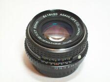 PENTAX-SMC 50mm veloce M 1.7 ASAHI Pancake Lens Reflex