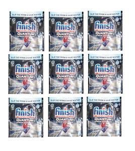 Finish Quantum tabs NEW    NINE pack of 22CT [198TABS]