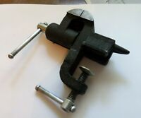 Rare Vintage Soviet mini jewelry Vise with Anvil Made in USSR 1970s