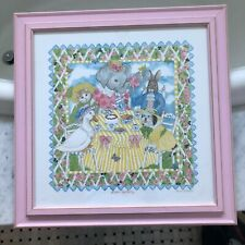 Kelly B. Rightsell Mimi's Tea Party Framed Print Picture Childs Room Baby Gift