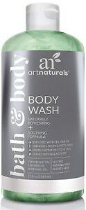 ArtNaturals Tea Tree Body and Foot Wash - (12 Fl Oz / 355ml) - Peppermint...