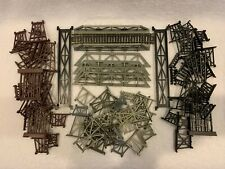 HO Scale Lot of 88 Pieces of Bridges and Trestles