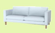 "IKEA Karlstad""2 Seat""Sofa Cover Sivik Light Blue Loveseat Brand NEW Rare Aqua"