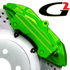 LIME GREEN G2 BRAKE CALIPER PAINT EPOXY STYLE KIT FREE SHIP
