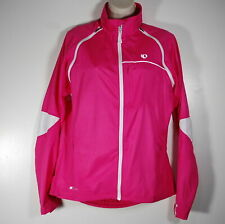 Women's Pearl Izumi Elite Barrier Convertible Cycling Jacket Vest Pink Size S-M